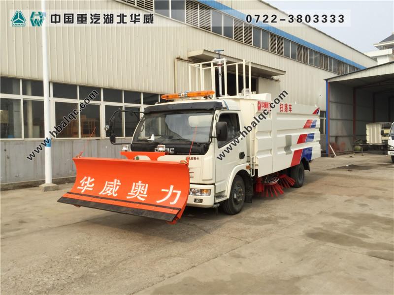 东风多利卡扫路车(国五天然气)