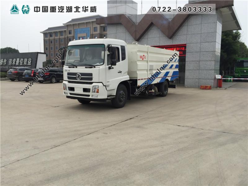 东风天锦大型吸尘车(国五天然气)